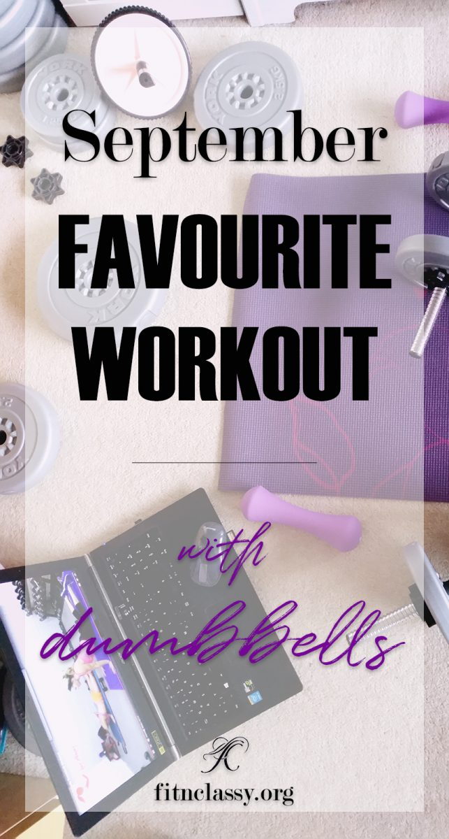 September Favourite Workout