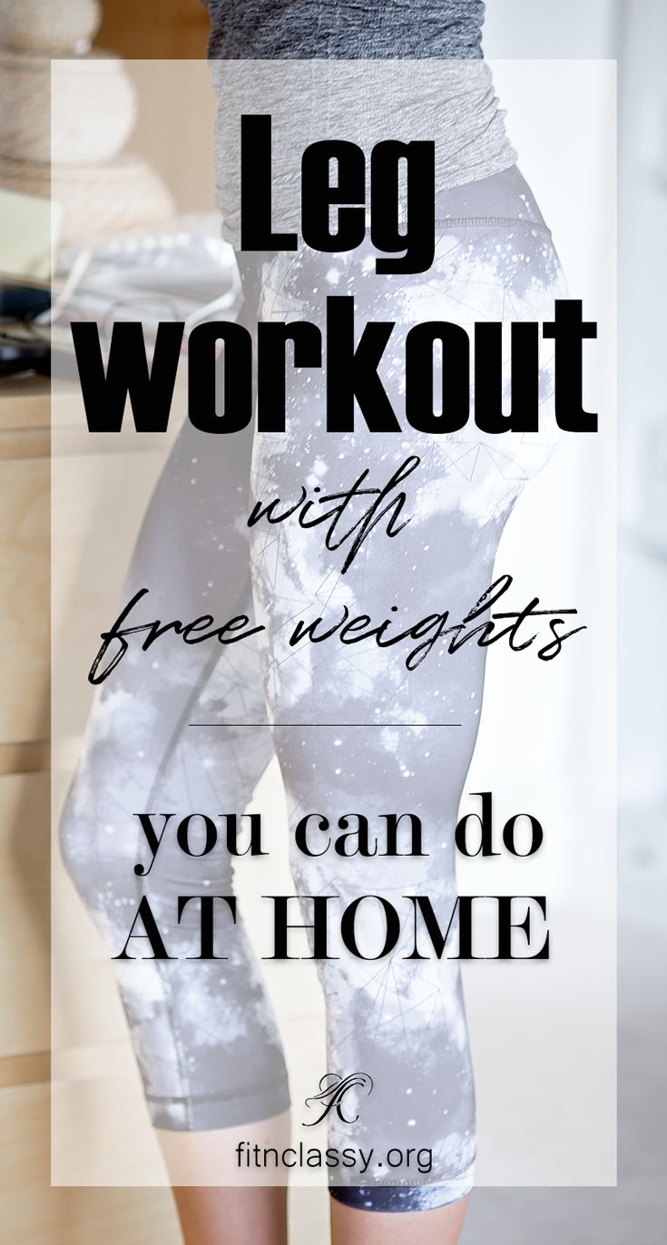 Leg Workout with Free Weights