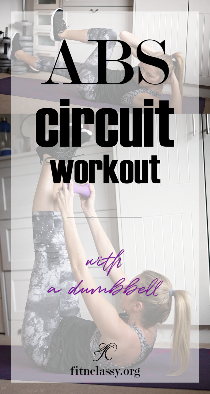 ABS circuit workout (no-gym needed)